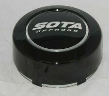 SOTA OFFROAD GLOSS BLACK MED 8 LUG WHEEL RIM CENTER CAP 1291S01 S1612-02 1291