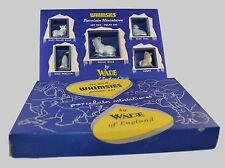 WADE WHIMSIES SET 6 (POLAR) BEAR, PENGUIN SEAL ETC. 1956 WITH ORGINAL BOX