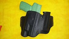 HOLSTER WITH EXTRA MAG W/ Surefire X300 Ultra BLACK KYDEX FN 5.7 USG Five Seven