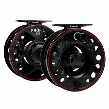 Leeda Profil Cass 5/6 Fly Reel With 2 Spare & Spools / Game Fishing C0780