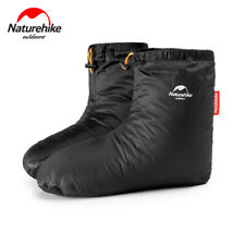 Naturehike Outdoor White Goose Down Socks Shoes Cover Waterproof  Winter Cover