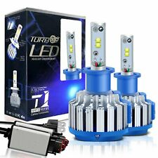 2x Canbus H3 LED Headlight Bulb CREE Chip Conversion Kit 70W 6000K 10000LM White