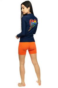 RRP €220 TORY BURCH Surf Shirt / Rash Guard Size M SPF50 Quick Dry Coated Back