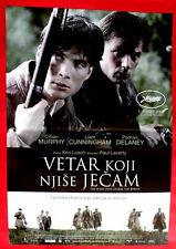 WIND THAT SHAKES THE BARLEY 2006 CILLIAN MURPHY KEN LOACH SERBIAN MOVIE POSTER