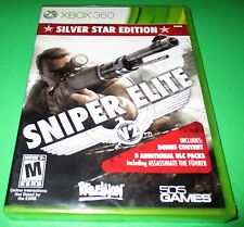 Sniper Elite V2 -- Silver Star Edition Microsoft Xbox 360 *New-Sealed-Free Ship!