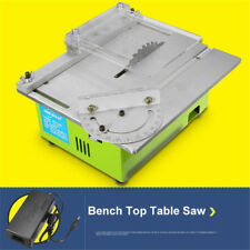 Portable Bench Top Table Saw Electric Wood Cutting Polishing Carving Machine