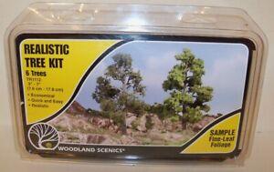 Realistic Tree Kit #TR1112 by Woodland Scenics (JS #1 (2-16))