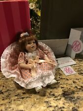 Marie Osmond Debbie Tiny Tot Doll Numbered Limited Ed. W COA NECKLACE