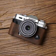 Genuine Leather Camera Half Case For Fujifilm Fuji X-T30 X-T20 X-T10 Handmade