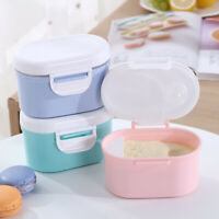 Baby Milk Powder Container Formula Lunch Box Storage Bottle Travel Portable