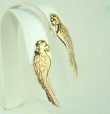 18K Gold Plated Parrot Earrings - LIFETIME WARRANTY