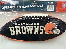 """NFL 15"""" Oversized Inflatable Football, Cleveland Browns, NEW"""