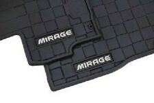 New OEM Mitsubishi GENUINE All Weather Floor Mat Set For Mirage G4 2017-2020