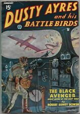 Vintage Pulp Magazine~DUSTY AYRES AND HIS BATTLE BIRDS~Feb 1935 Air Aces NICE!