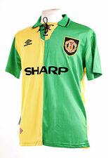 Manchester United Newton Heath 1993-1994 Verde Replica football shirt MEDIUM M