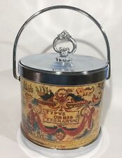 Vintage Seau A Glace Typvs Orbis Terrarvm world maps Ice Bucket Man Cav Barware