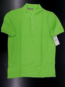 Boys French Toast $18 Uniform/Casual Lime Green Polo Shirt Size 18 & 20