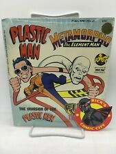 "PLASTIC MAN & METAMORPHO POWER RECORDS #2302 33-1/3 RPM 7"" DC Comics 1975"