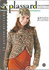 Catalogue tricot PLASSARD n° 50/Collection automne-hiver/Femmes et hommes