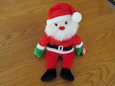 "NEW TY Beanie Baby - ""Santa"" The Christmas Bear - 1998 - Retired"