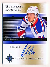 2015-16 Ultimate Collection Oscar Lindberg 05-06 Rookies On Card Auto Rc 037/275