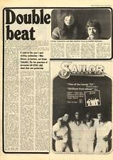 Stomu Yamashta Mike Shrieve Santana Double Beat MM5 Interview 1975