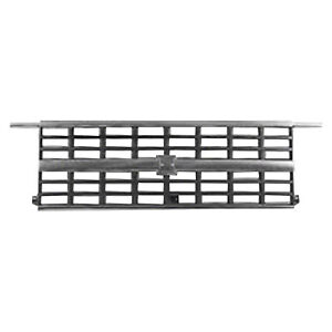 New For CHEVROLET G30 Chrome Front Grille Fits 1992-1996 15667812 GM1200241