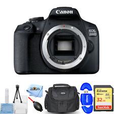 Canon EOS 2000D/Rebel T7 DSLR Camera (Body Only) Starter 32GB Bundle