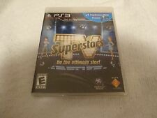 TV SuperStars Video Game Playstation 3 PS3 New Sealed Free Shipping