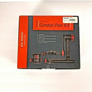 Promaster GH25K Professional Gimbal Pan Kit Panoramic Head  with Case