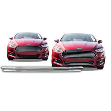 FREE SHIPPING: 2013-2016 Ford Fusion Chrome Snap On Grille Overlay #120B