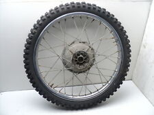 #4080 Yamaha DT250 DT 250 Enduro Chrome Front Wheel & Tire