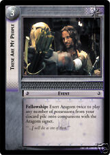 LOTR TCG  5R41 These Are My People x4