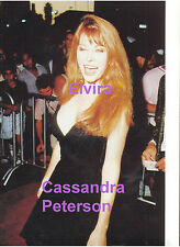 ELVIRA CASSANDRA PETERSON SEXY DEEP CLEVEAGE HOLLYWOOD RARE UNSEEN PRESS PHOTO