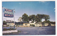 Rivards Motel Ancienne Lorette Quebec City Canada postcard