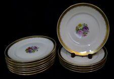 Vintage Royal Copenhagen Hand Painted Dinner Plates (12)