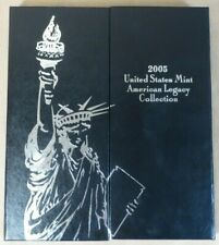 2005 U.S. MINT American Legacy Collection, 13-Coin Silver Proof Set, *$1 USMC*