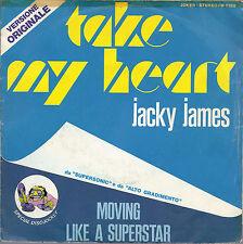 TAKE MY HEART - MOVING LIKE A SUPERSTAR # JACKY JAMES
