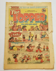 The Topper, Issue 1457, Jan 3 1981, Vintage Comic, Beryl the Peril