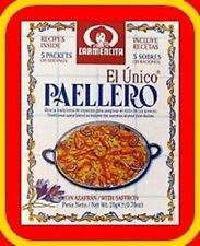 2 X  PACKETS - TRADITIONAL  PAELLA SEASONING X 60 SERVINGS