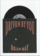 BRIAN MAY QUEEN SOLO SINGLE DRIVEN BY YOU WITH PIC COVER FROM UK
