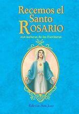 Recemos el Santo Rosario : Con Lecturas de Las Escrituras by Rev. J. M. Lelen...