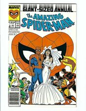 Amazing Spider-Man Annual 21B, NM 9.4+, Marvel 1987, High Grade, CGC Worthy!