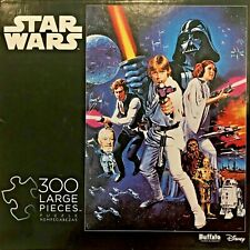 Buffalo Games Star Wars 300 Piece Puzzle classic movie image Han Solo Chewbacca