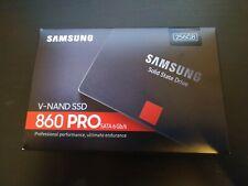"NEUF Samsung 860 PRO 256 Go, SATA III 2,5"" SSD Interne (MZ-76P256B/EU)"
