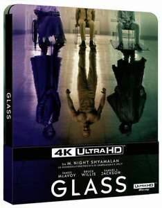 """GLASS"" - M. Night Shyamalan - Thriller - ltd 4K UHD + BLU RAY STEELBOOK neu/OVP"
