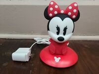 Minnie Mouse Night Light Philips Disney SoftPals Portable Rechargeable 6""