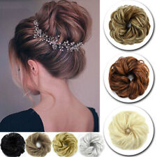 UK Thick Messy Bun Hair Piece Scrunchie Updo Wrap Around Extension Real as human