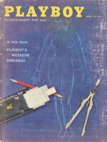 PLAYBOY APRIL 1959 Blueprint Plans Nancy Crawford Tina Louise Fredric Brown (4)