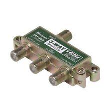 Steren 201-203 3-Way Splitter 1 GHz 90 dB F-Type 75 Ohm 5 - 1000 MHz Balanced